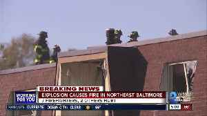 Explosion at Northeast Baltimore apartment complex sends 7 firefighters, 2 civilians to hospitals [Video]