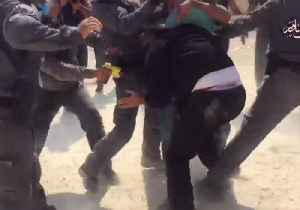 Israeli Police Use Tasers, Pepper Spray on Protesters Defending West Bank Bedouin Village [Video]