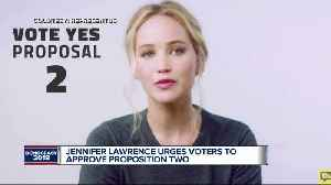 Jennifer Lawrence in Proposal 2 ad [Video]