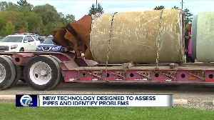 New technology to asses pipes and identify problems [Video]