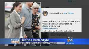 TRENDING: Serena Williams Tickled To See Meghan Markle Wearing One Of Her Blazers [Video]