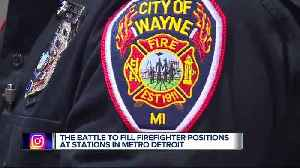 Metro Detroit communities are suffering a firefighter shortage [Video]