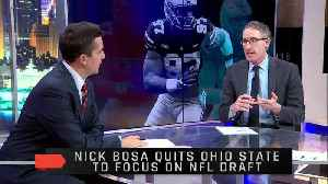 News video: Reaction to Nick Bosa's Decision to Leave Ohio State to Focus on the NFL Draft