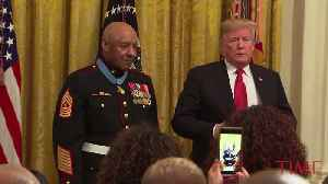 Retired Marine, Who Fought in Vietnam, Receives the Medal of Honor [Video]