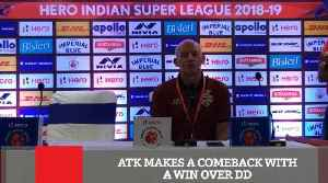 Atk Makes A Comeback With A Win Over Dd [Video]