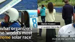 Solar car teams gear up for grueling race in Chile [Video]