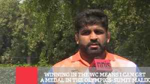 Winning In The Wc Means I Can Get A Medal In The Olympics- Sumit Malik [Video]