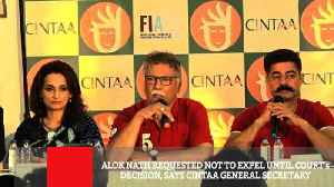 Alok Nath Requested Not To Expel Until Court's Decision, Says Cintaa General Secretary [Video]