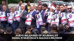 Audio Released of Journalist Jamal Khashoggi's Alleged Murder [Video]