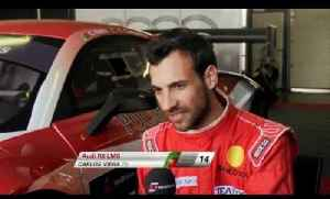 Carlos Viera - FIA GT - France - Preview [Video]