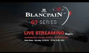 Blancpain Sprint Series - Qualifying Race - Live Stream - Nogaro [Video]