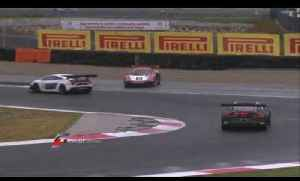 FIA GT -  Navarra Qualifying Race Short Highlights [Video]