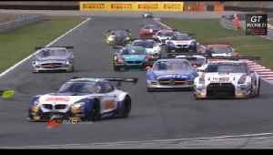 FIA GT - Navarra Main Race  - Short Highlights - 2013 [Video]
