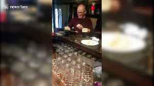 Pub-goer performs incredible trick with pint of Guinness and packet of crisps [Video]