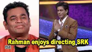 Rahman enjoys directing SRK for music video [Video]