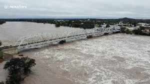 Aerial footage shows Llano River flooding in Texas Hill Country [Video]