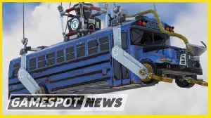 Fortnite Battle Bus Gets A Speed Boost [Video]