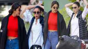 Alia Bhatt & Priyanka Chopra spotted TOGETHER in New York; Check Out | FilmiBeat [Video]