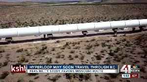 Kansas City-St. Louis hyperloop moves one step closer to reality [Video]