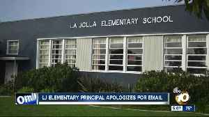 La Jolla Elementary principal apologizes for email [Video]