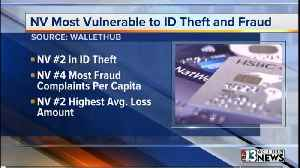 Report: Nevada tops list of states most vulnerable to identity theft, fraud [Video]