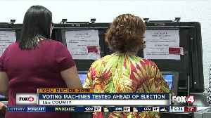 Election machines testes in Lee County [Video]