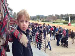 Little Boy Blames Mom for His Horse Losing [Video]