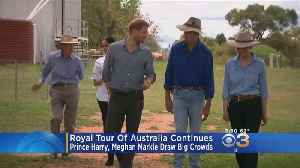 Prince Harry, Meghan Markle Continue Royal Tour Of Australia [Video]