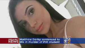 Man Accused Of Murdering Pitt Student Pleads Guilty, Sentenced To Life In Prison [Video]