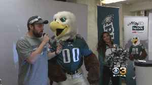 Eagles Helped Students Get Pumped Up At Francis Scott Key School [Video]