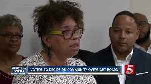Voters to decide on police oversight board [Video]