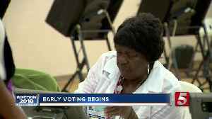 Early Voting Begins In Tennessee [Video]