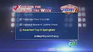 News video: Haverford Township @ Springfield Is This Week's Friday Football Frenzy Game Of The Week October 19, 2018