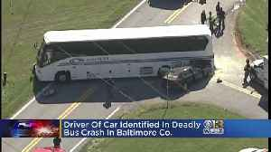 At Least 1 Dead After Charter Bus Crash In Baltimore Co. [Video]