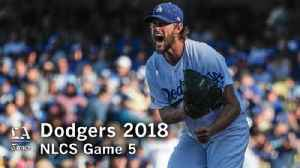 Clayton Kershaw dominates in NLCS Game 5 [Video]