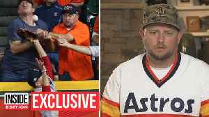 Astros Fan Who Caught Baseball in Stands Describes Controversial Play [Video]