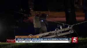 Hundreds without power in Madison after accidental shooting, crash [Video]
