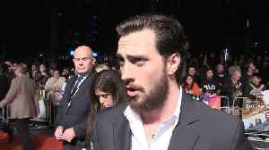 Aaron Taylor-Johnson on working in 'Outlaw King' [Video]