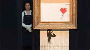 Banksy Suggests Painting Was Supposed To Be Completely Destroyed [Video]