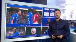 Chelsea v Man Utd: Essential stats [Video]