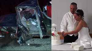 Couple Nearly Killed in Horrific Crash Five Days After Their Wedding [Video]