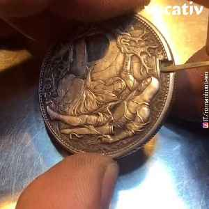 This Russian Artist Creates Mind-Blowing Carvings on Coins [Video]