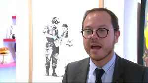French auction house can only hope for a Banksy prank [Video]