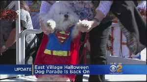 East Village Halloween Dog Parade Returns At New Location [Video]