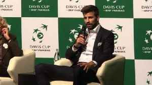 VIDEO/Piqué presenta la nueva Copa Davis [Video]