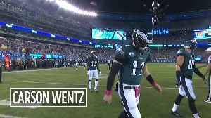 Week 7: Panthers at Eagles [Video]
