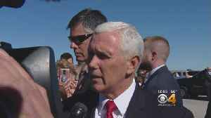 Vice President Mike Pence Makes Brief Stop In Colorado [Video]