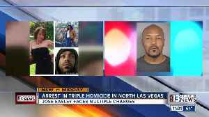 Man arrested in North Las Vegas triple homicide [Video]