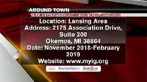 Around Town - 10-18-18 - Michigan Youth and Government Recruiting Volunteer Advisors [Video]
