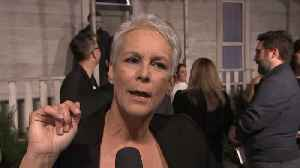 Jamie Lee Curtis At 'Halloween' Premiere [Video]